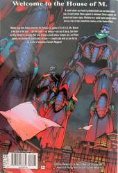 Verso de House of M: No More Mutants