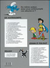 Verso de Johan et Pirlouit -10e2019- La guerre des 7 fontaines