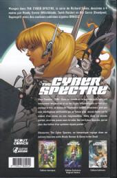 Verso de The cyber spectre -1- Terrain hanté
