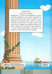 Verso de Alix (en italien) -14- Sacrificati al vulcano