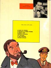 Verso de Blake et Mortimer (Les aventures de) (Historique) -7a72- S.O.S. Météores