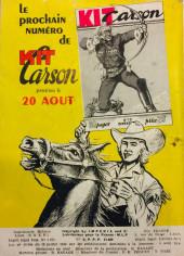Verso de Kit Carson -9- La guerre du chemin de fer