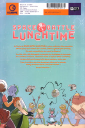 Verso de Space Battle Lunchtime -2- La recette du désastre