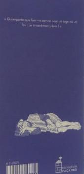 Verso de Façades -10- Un trésor