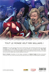 Verso de Invincible Iron Man : Ironheart -2- La Cour des Grands