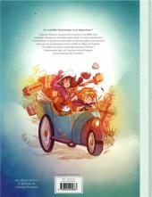 Verso de Lothaire Flammes -1- Chasseurs de monstres
