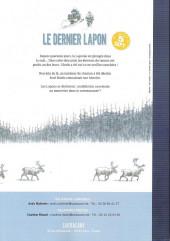 Verso de Le dernier Lapon -HC- Le dernier lapon