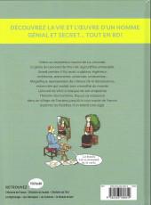 Verso de L'histoire de l'art en BD -4- Léonard de Vinci