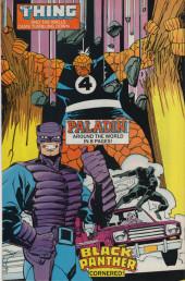 Verso de Marvel Comics Presents (1988) -21- The Retribution Affair (Part 5) - Best Laid Plans
