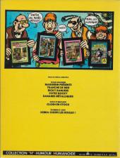 Verso de Frank Margerin présente - Tome 1b1982/05