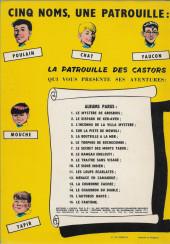 Verso de La patrouille des Castors -1b71- Le mystère de Grosbois