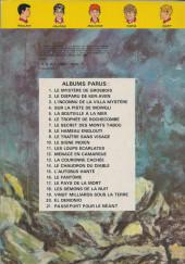 Verso de La patrouille des Castors -14b1980- Le chaudron du diable