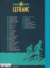 Verso de Lefranc - La Collection (Hachette) -20- Noël noir
