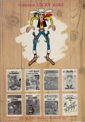 Verso de Lucky Luke -4a1971- Sous le ciel de l'Ouest