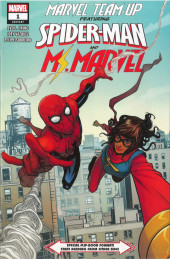 Verso de Marvel Team-Up Vol.4 (Marvel comics - 2019) -1- Spider-Man and Ms. Marvel