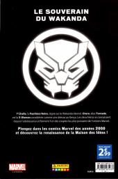 Verso de Marvel Les Années 2000 - La Renaissance -2- Black Panther