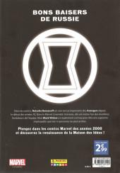 Verso de Marvel Les Années 2000 - La Renaissance -3- Black Widow