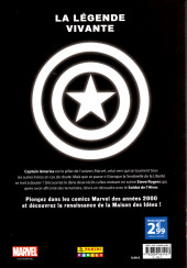 Verso de Marvel Les Années 2000 - La Renaissance -4- Captain America