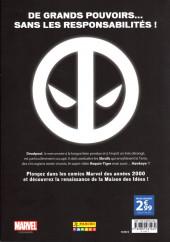 Verso de Marvel Les Années 2000 - La Renaissance -5- Deadpool
