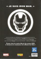 Verso de Marvel Les Années 2000 - La Renaissance -6- Iron Man