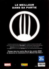 Verso de Marvel Les Années 2000 - La Renaissance -9- Wolverine