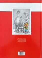 Verso de Cédric -1a1991- Premières classes