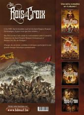 Verso de Des Rois et des Croix -1- Livre I
