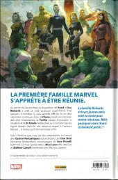 Verso de Fantastic Four (100% Marvel - 2019) -1- Fourever