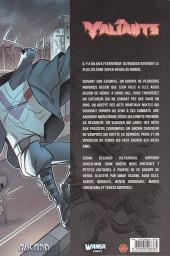 Verso de Les valiants -1- Volume 1