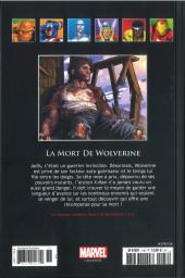 Verso de Marvel Comics - La collection (Hachette) -136103- La Mort de Wolverine