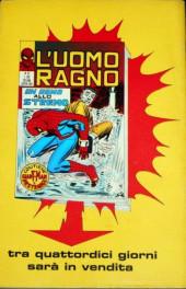 Verso de L'uomo Ragno V1 (Editoriale Corno - 1970)  -46- Kingpin