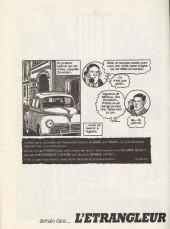 Verso de L'Étrangleur - Nestor Burma -2a- L'envahissant cadavre de la plaine Monceau (2)