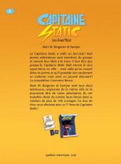 Verso de Capitaine Static -7- Les FanaTICs!