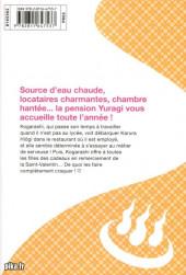Verso de Yûna de la pension Yuragi -9- Volume 9