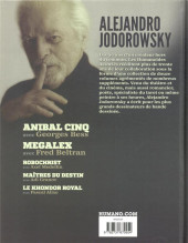 Verso de Alejandro Jodorowsky 90e anniversaire -5- Volume 5