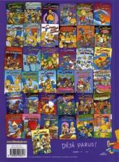 Verso de Les simpson (Jungle !) -38- Le Homer Show