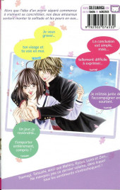 Verso de Crush on you ! -8- Tome 8