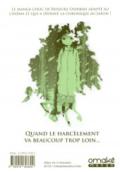 Verso de Le perce Neige -1- Tome 1