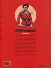 Verso de Barbe-Rouge (L'intégrale - Nouvelle édition) -13- Le secret d'Elisa Davis