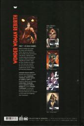 Verso de Wonder Woman Rebirth -7- Les Dieux Sombres