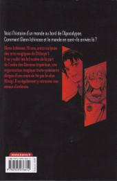 Verso de Seraph of the End - Glenn Ichinose - La catastrophe de ses 16 ans -1- Tome 1