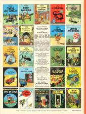 Verso de Tintin (Historique) -14C5- Le temple du soleil