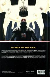 Verso de Star Wars - Dark Vador : Le Seigneur noir des Sith -3- Mers de feu