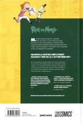 Verso de Rick and Morty - Les aventures de M. Boîte à caca