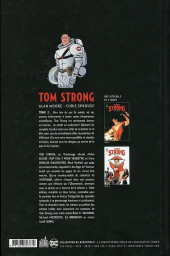 Verso de Tom Strong -INT2- Intégrale Tome 2