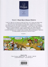 Verso de Fréjus - 2000 ans d'histoire -2- Moyen-Age et Epoque Moderne
