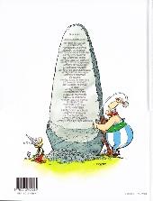 Verso de Astérix (Hachette) -4b04- Astérix gladiateur