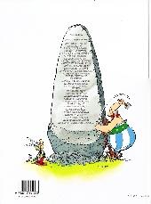 Verso de Astérix (Hachette) -1b2004- Astérix le Gaulois