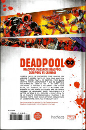 Verso de Deadpool - La collection qui tue (Hachette) -470- Deadpool massacre Deadpool / Deadpool vs Carnage