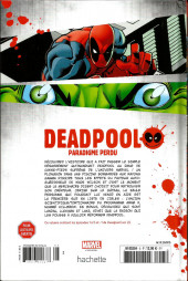 Verso de Deadpool - la collection qui tue (hachette) -55- Paradigme perdu